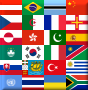 Flags of some stamp issuing entities